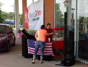 Morristown Toyota special events