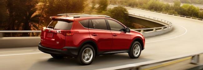 Finance a new Toyota RAV4 near Parsippany