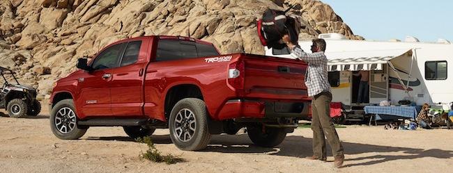 2016 Toyota Tundra tailgate