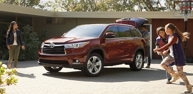 2016 Toyota Highlander showroom NJ