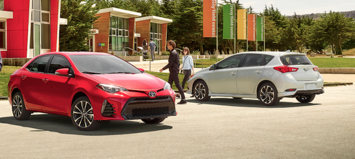 2017 Toyota models available near Randolph