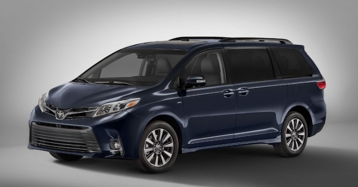 2018 Toyota Sienna available near Parsippany
