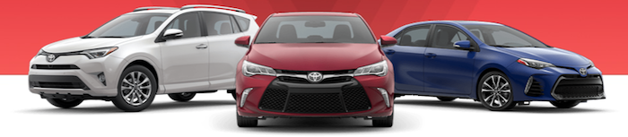 Toyota vehicle specials in Morristown