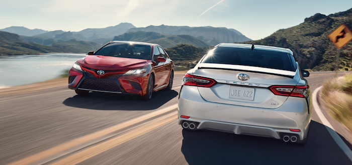 New Toyota Camry available at dealer serving Randolph