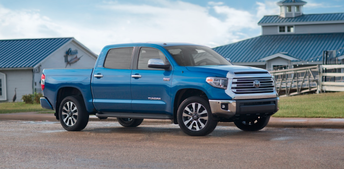 New Toyota Tundra truck available near Madison