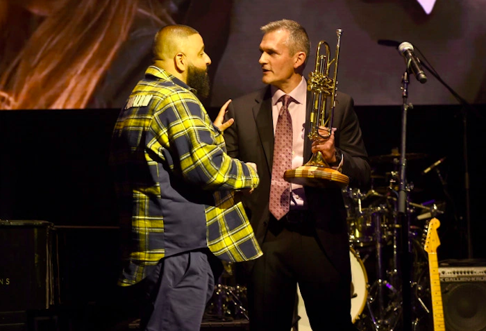 DJ Khaled receives Toyota Giving Award