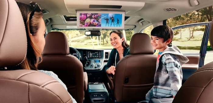 Toyota Sienna family road trip