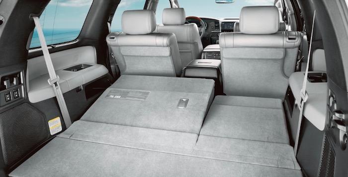 Toyota cargo space